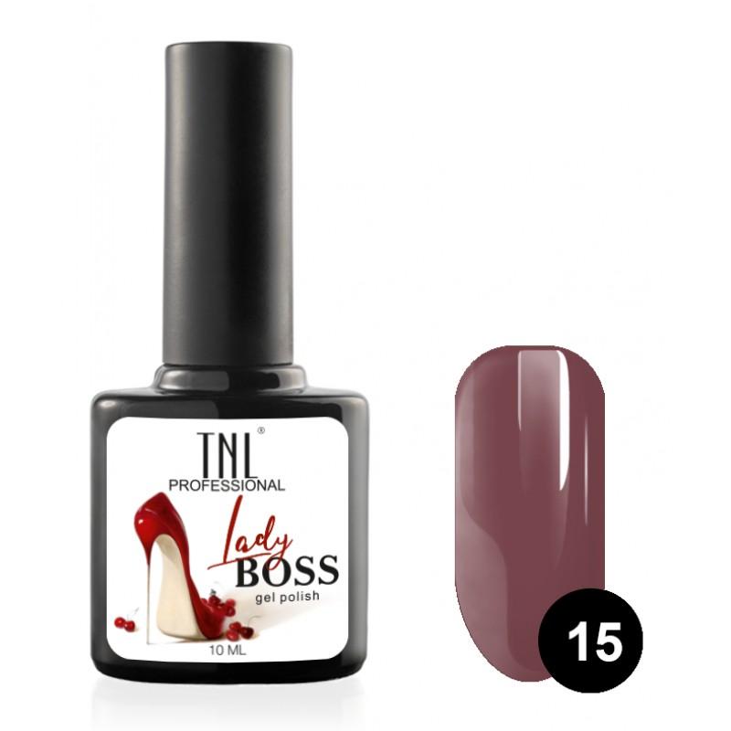 TNL PROFESSIONAL 15 гель-лак для ногтей / Lady Boss 10 мл