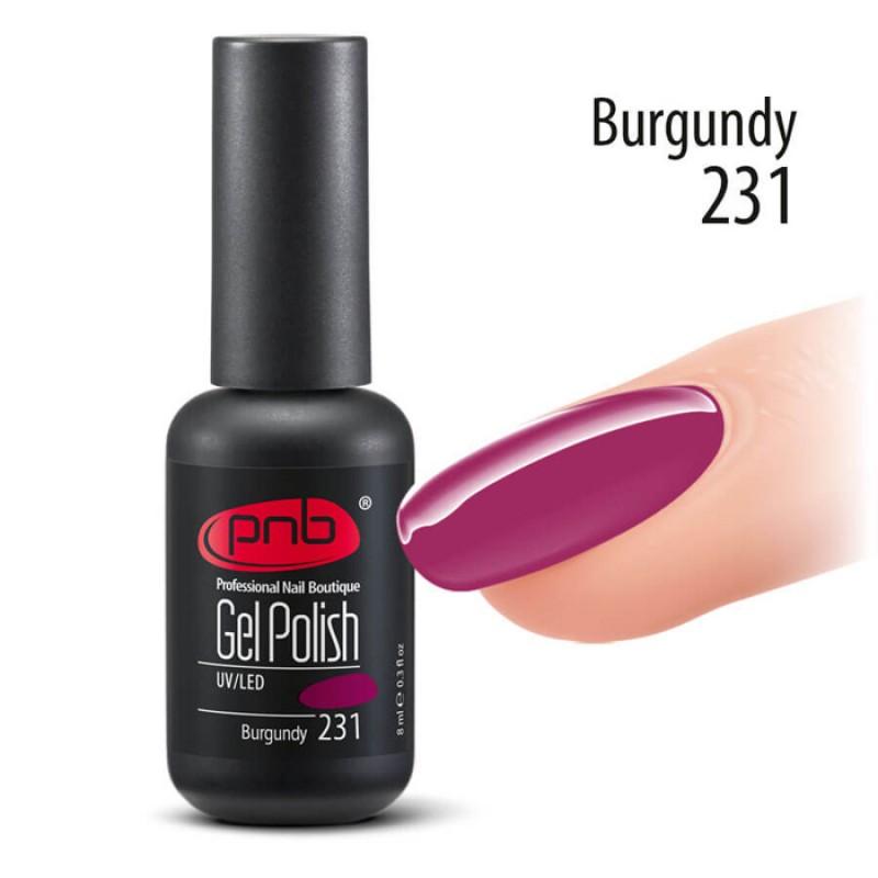 PNB 231 гель-лак для ногтей / Gel nail polish PNB 8 мл
