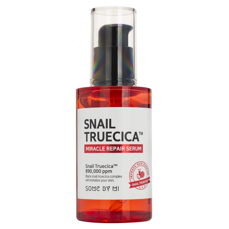 SOME BY MI Сыворотка для интенсивной регенерации кожи с муцином улитки и комплексом растительных экстрактов / Snail Truecica 50 мл