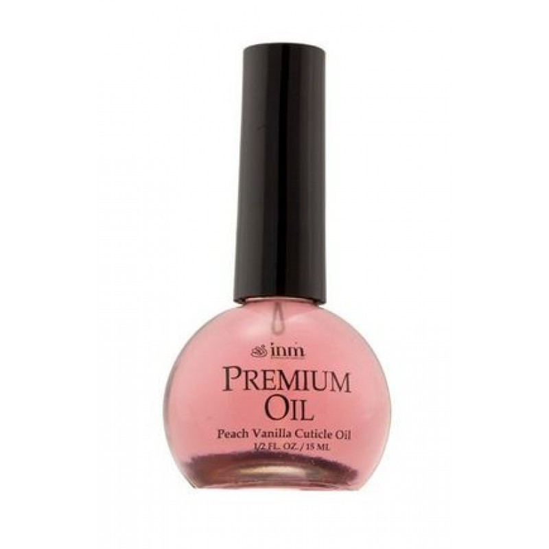 INM Масло с ароматом персика для кутикулы / Premium Peach Oil 15 мл