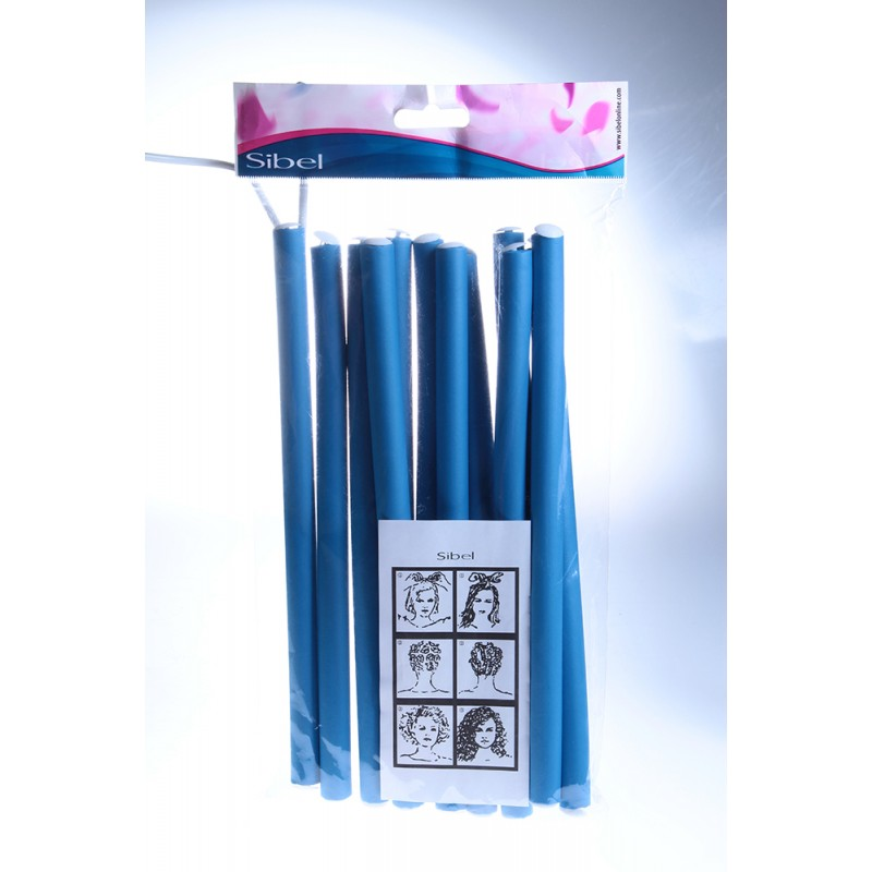 HAIRWAY Бигуди-папиллоты 25смх15мм синие 12шт/уп