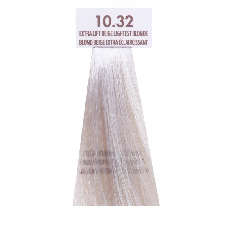 MACADAMIA NATURAL OIL 10.32 краска для волос, осветляющий бежевый блондин / MACADAMIA COLORS 100 мл