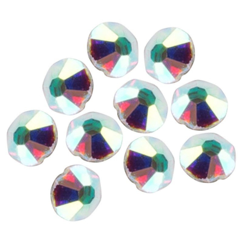 IRISK PROFESSIONAL Стразы голографические 01 SS3 (1.3-1.4 мм) 100 шт