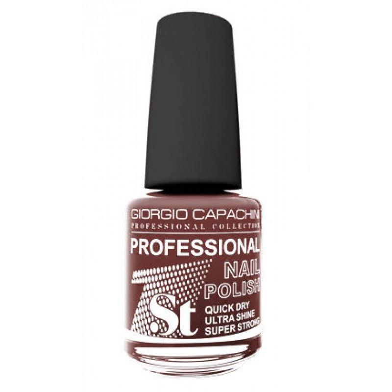 GIORGIO CAPACHINI 57 лак для ногтей, розовато-коричневый / 1-st Professional 16 мл